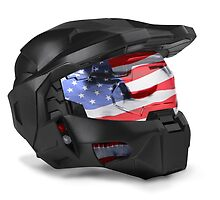 Master Chief - American style by The5thHorseman