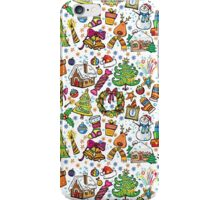 Christmas Icons iPhone Case/Skin