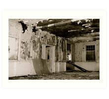 Harperbury - Decay Art Print