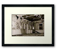 Harperbury - Decay Framed Print