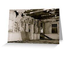 Harperbury - Decay Greeting Card