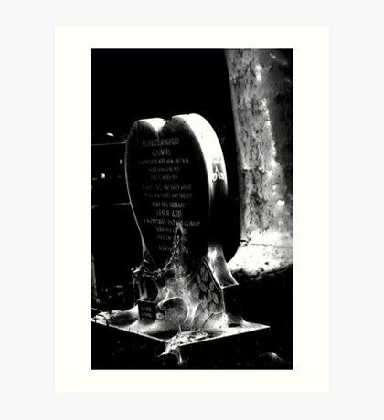 spooky2 Art Print