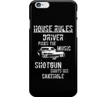 House Rules iPhone Case/Skin