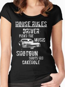 House Rules Women's Fitted Scoop T-Shirt