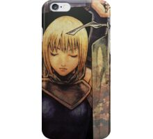 Claymore iPhone Case/Skin