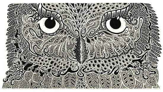 The Intricacies of Ink - Night Owl by Tristan Bristow