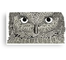 The Intricacies of Ink - Night Owl Canvas Print