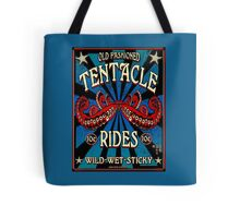 Tentacle Rides Poster Art Tote Bag