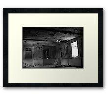 Harperbury - Window Framed Print