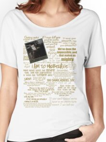 Captain Quotes Women's Relaxed Fit T-Shirt