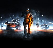 Battlefield Master Chief Style by The5thHorseman