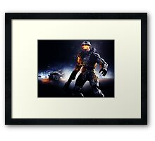 Battlefield Master Chief Style Version 2 Framed Print