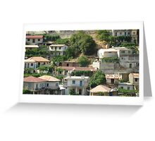 Mountainside Housing Greeting Card
