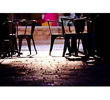 coffee place  Photographic Print