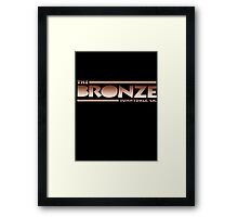 The Bronze at Sunnydale (Buffy the Vampire Slayer) Framed Print