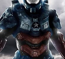 Halo 4 - Chief America by The5thHorseman