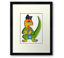 What if Raptors were Rainbows? Framed Print