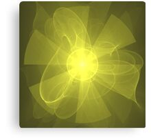 Flower of Love and Light | Future Fashion Canvas Print