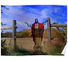 I am the gate for the sheep /  Jesus the Good Shepherd Poster