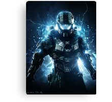 Halo 4 Master Chief - Through the Storm Canvas Print