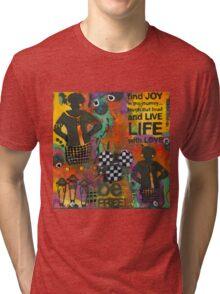 Finding JOY in My Journey Tri-blend T-Shirt