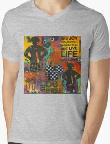 Finding JOY in My Journey Mens V-Neck T-Shirt