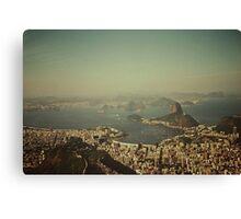 Rio de Janeiro vintage Canvas Print
