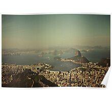 Rio de Janeiro vintage Poster