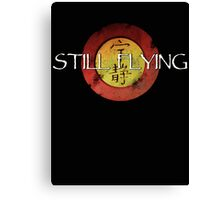 Still Flying Canvas Print