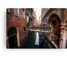 Flowers of Venice Canvas Print