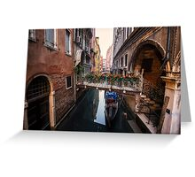 Flowers of Venice Greeting Card