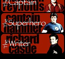 The Captain, The Superhero, and The Writer by Gwright313