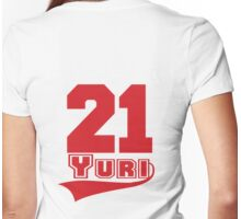Yuri - 21 Womens Fitted T-Shirt