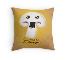 La Trahison des Legumes no. 2 Throw Pillow