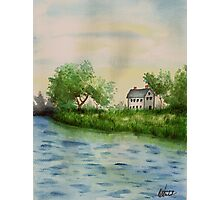 The Lakehouse Photographic Print