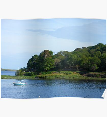 View across the Bay - Stornoway Poster