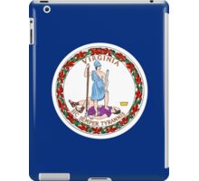 Virginia USA State Richmond Flag Bedspread T-Shirt Sticker iPad Case/Skin