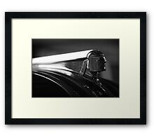 Chief Pontiac Framed Print
