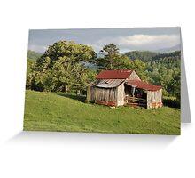 Weathered Old Barn Greeting Card