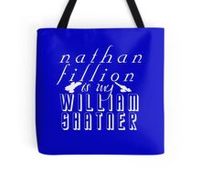 Nathan Fillion is my William Shatner Tote Bag
