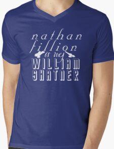 Nathan Fillion is my William Shatner Mens V-Neck T-Shirt