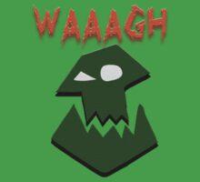 Ork Attack WAAAGH! Kids Tee