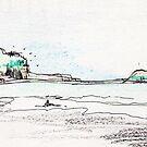 Muriwai Beach by iskamontero