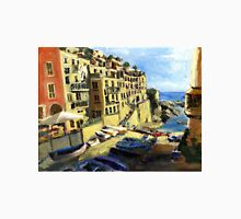 Riomaggiore Italy Late Afternoon Unisex T-Shirt