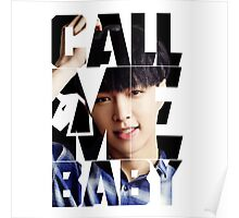 EXO Lay 'Call Me Baby' Poster