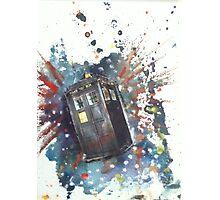 TARDIS Photographic Print