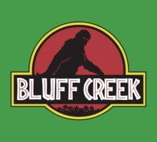 Bluff Creek Sasquatch Bigfoot T Shirt by bitsnbobs