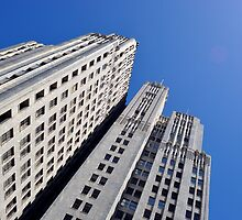 San Francisco Skyline from Below by photolove