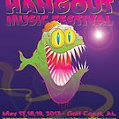 the hangout festival poster by designsalive