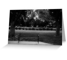 A Place To Meditate Greeting Card